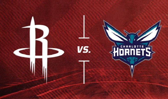 Charlotte Hornets vs. Houston Rockets