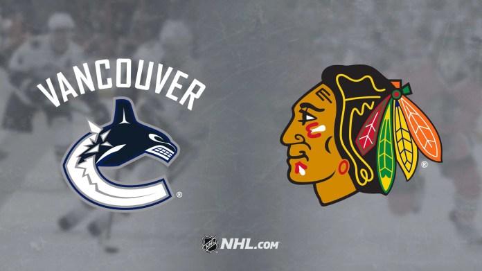 Chicago Blackhawks vs. Vancouver Canucks