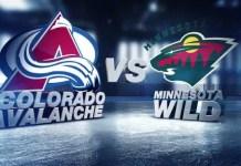 Colorado Avalanche vs. Minnesota Wild