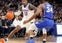 DePaul Blue Demons at Creighton Bluejays