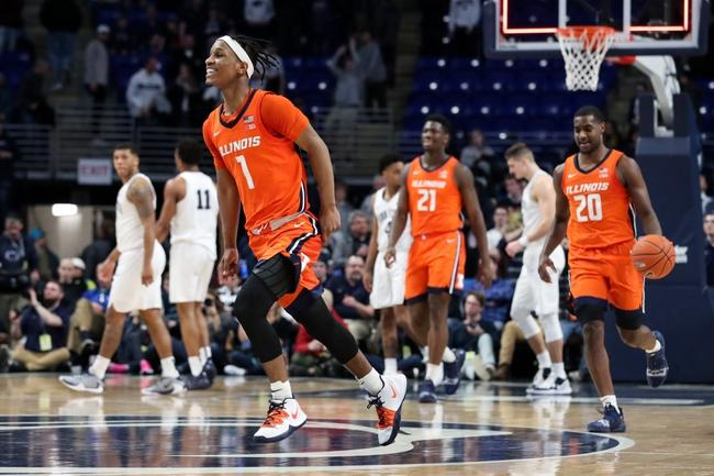 Nebraska Cornhuskers vs. Illinois Fighting Illini 02/24/20 Betting Pick & Prediction