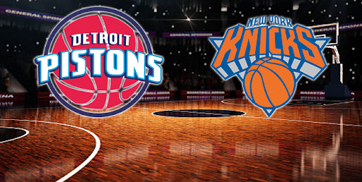 New York Knicks vs. Detroit Pistons