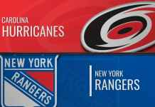 New York Rangers vs. Carolina Hurricanes