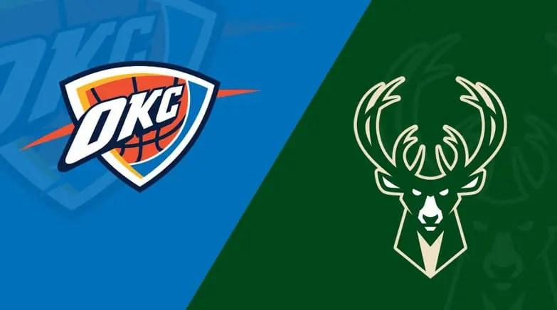 Oklahoma City Thunder at Milwaukee Bucks 02/28/20 Free Pick & Prediction