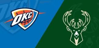 Oklahoma City Thunder at Milwaukee Bucks