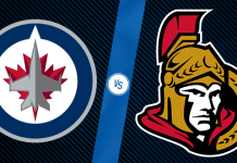 Ottawa Senators at Winnipeg Jets