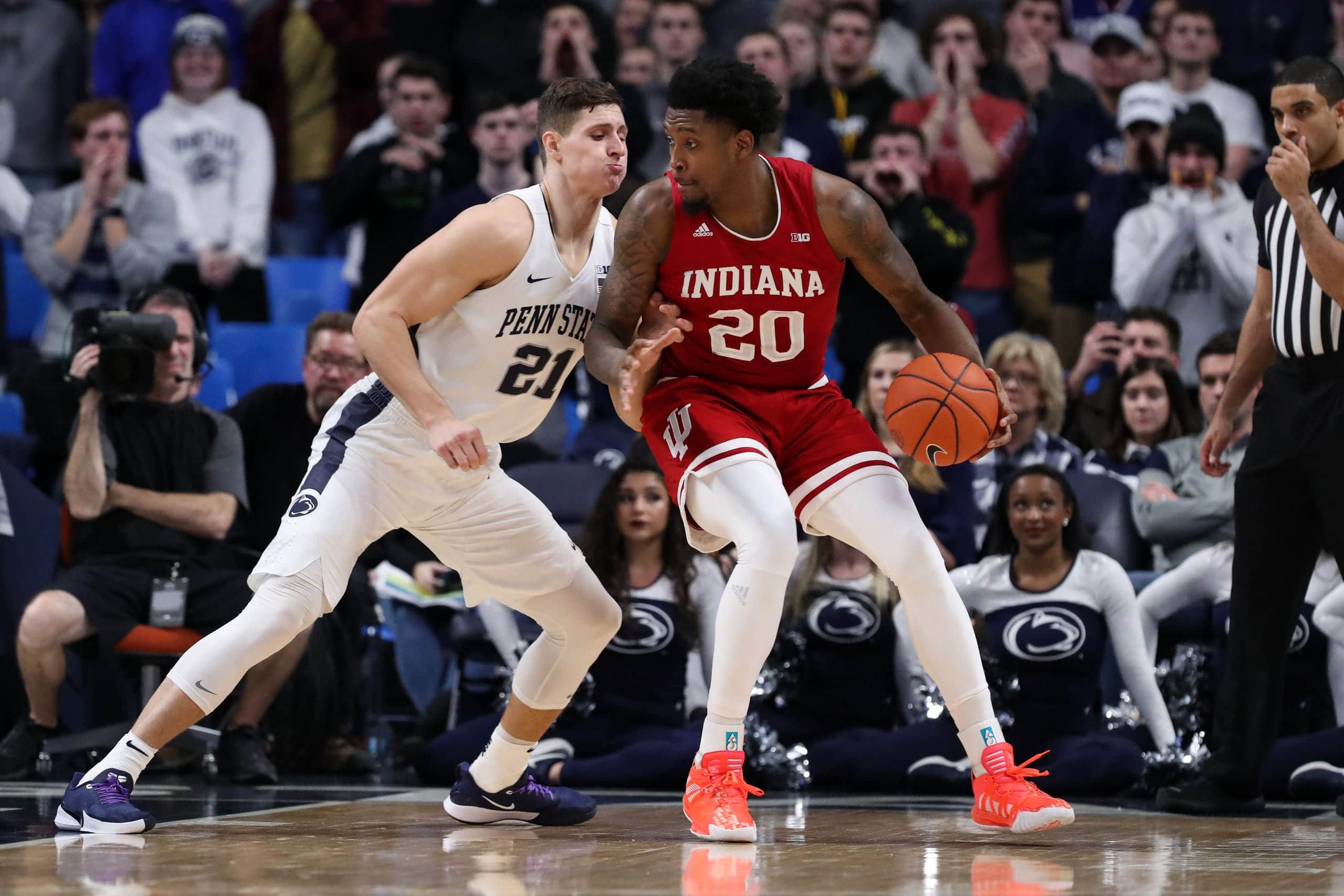Penn State Nittany Lions at Indiana Hoosiers 02/23/20 Free Pick & Prediction