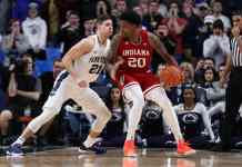 Penn State Nittany Lions at Indiana Hoosiers