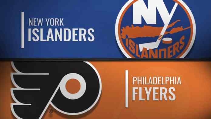 Philadelphia Flyers at New York Islanders