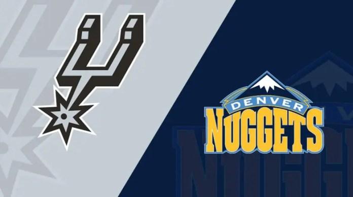 San Antonio Spurs at Denver Nuggets