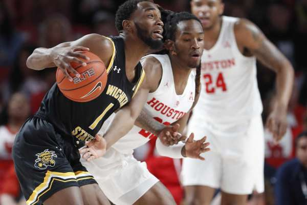 Image result for Wichita State Shockers vs Houston Cougars basketball