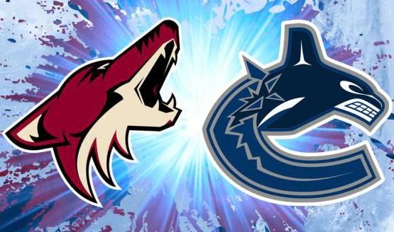 Arizona Coyotes at Vancouver Canucks