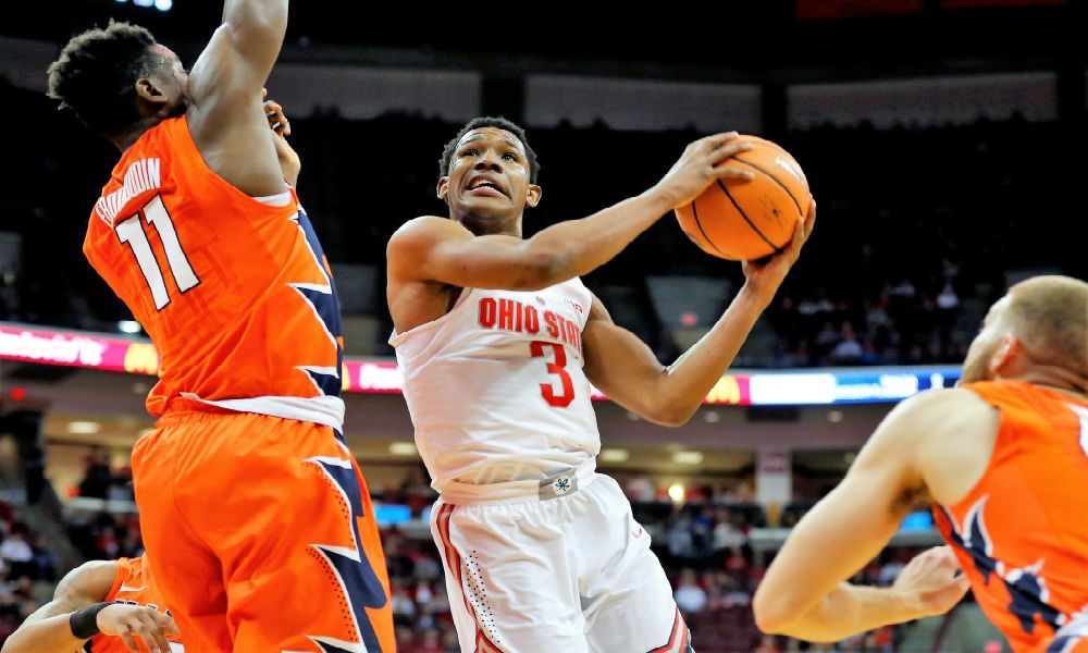 No. 19 Ohio State rallies by No. 23 Illinois, 71-63