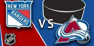 New York Rangers at Colorado Avalanche