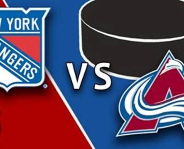 New York Rangers at Colorado Avalanche