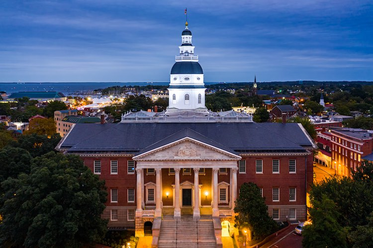 In A Close Call Maryland Passes Sports Betting Bill