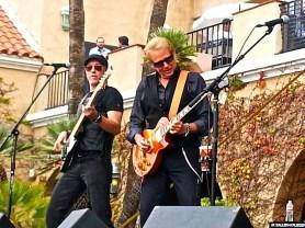 With Don Felder