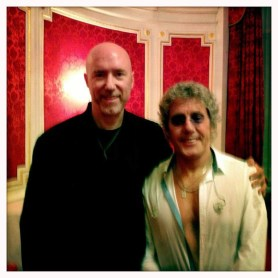 With Roger Daltrey