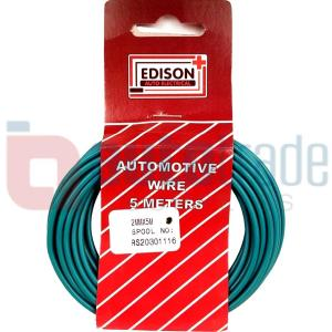 AUTO CABLE 2.0mm (5mtr-GREEN)