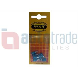 RYAN BLADE FUSE MINI 15AMP 5PC