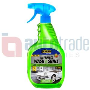 SHIELD WATERLESS WASH N SHINE