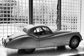 JAGUAR XK120 FIXED HEAD COUPE 1952