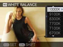 White Balance temperature
