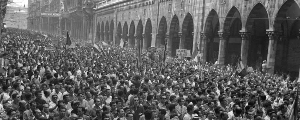 La nostra storia - 30 giugno 1960 (6) Tutti a De Ferrari