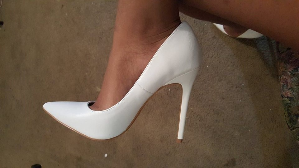 Style File White High Heel Pumps Still Charting The Top