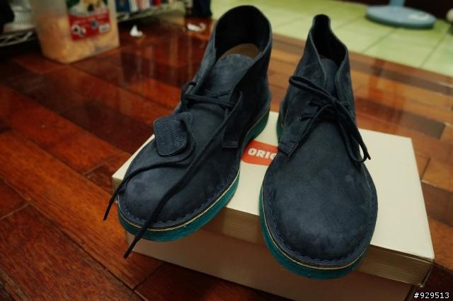 [開箱] Clarks Originals Deser t Boots 克拉克沙漠靴 - Mobile01