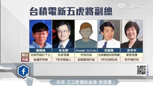 挑戰英特爾添火力!臺積電「五虎將」出列應戰 | 財經 | 三立新聞網 SETN.COM