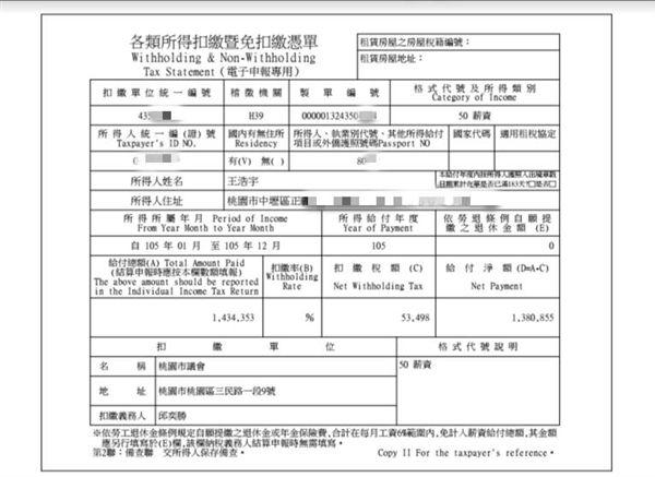 反年改稱他一年薪資500萬 王浩宇怒公布扣繳憑單 | 政治 | 三立新聞網 SETN.COM