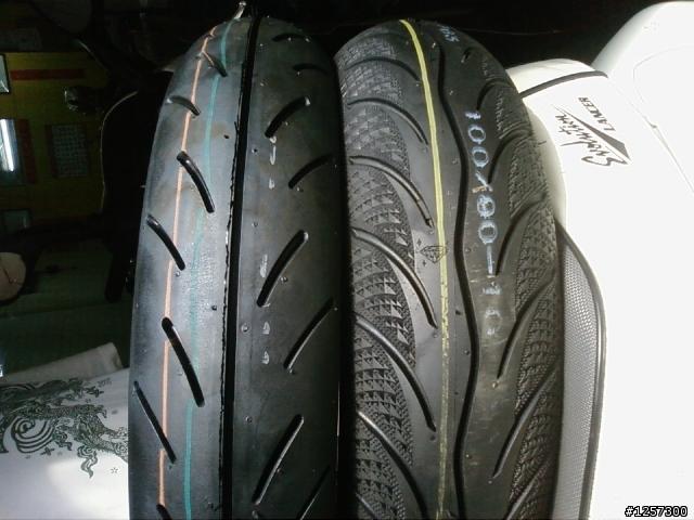 想請問MA3D的輪胎胎紋為什麼和一般的輪胎胎紋不同 - 輕型機車綜合 - 機車討論區 - Mobile01