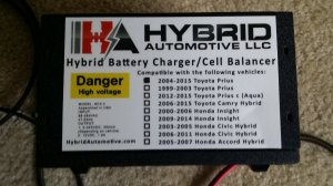 Hybrid automotive grid charger Install | PriusChat