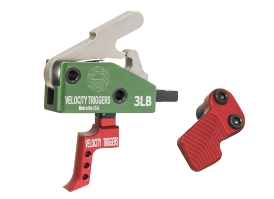 3lb Velocity MPC Drop In Trigger and XMR Package RED PK-VCT-3LB-MPC-RED 1