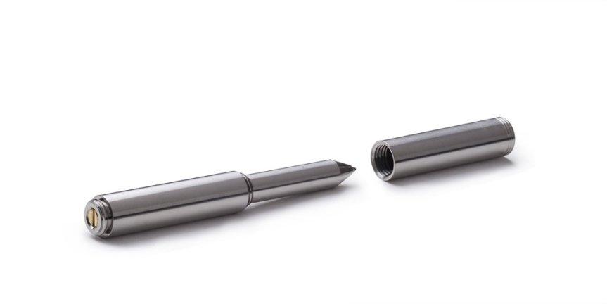 Schon DSGN Clip EDC Pen, Polished Aluminum 3