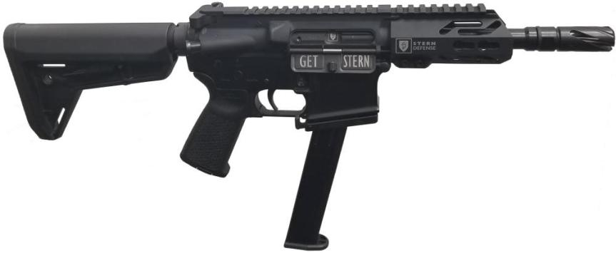 stern defense ar15 magazine well adapter for pistol 9mm 40 sw mag-ad9 mag-admp9&40 4