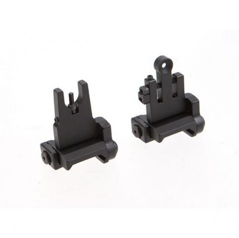 bobro enginieering low profile back up iron sights B46-000-005SBR B46-000-001RR lowest profile back up sights 3