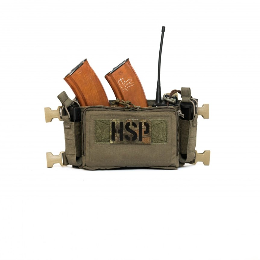 HALEY STRATEGIC D3CRM MICRO MODULAR CHEST RIG Disruptive Environments Chest Rig Micro 11