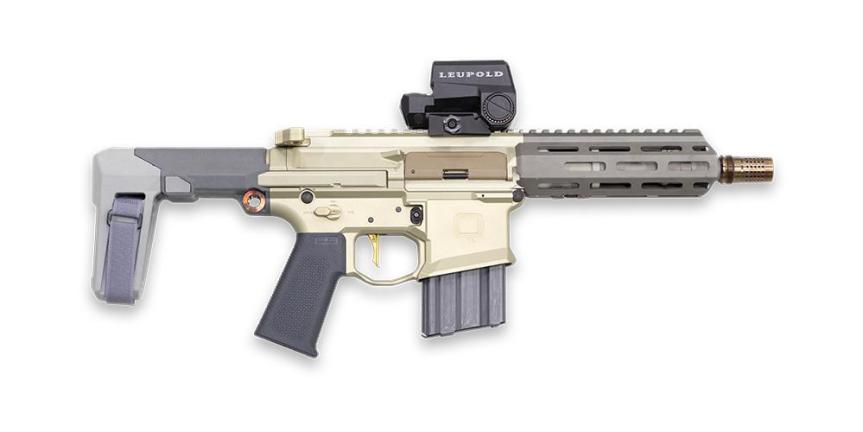 The Q honey badger pistol 300 blackout 1