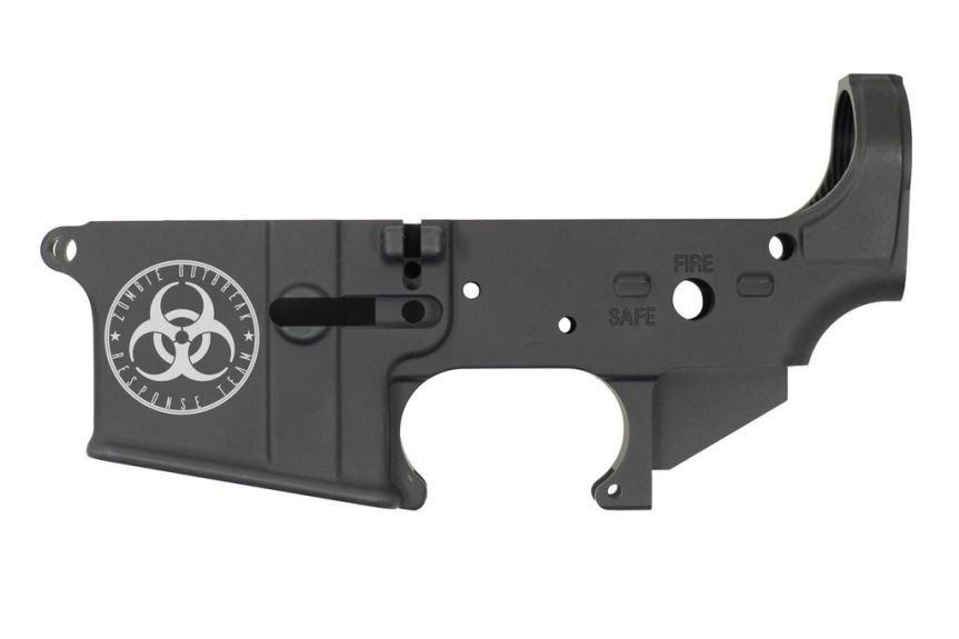 diamond back firearms ar15 stripped lower receiver limited edition ar15 zombie outbreak response team lower 2nd amendment lower ar15 2nd amendment. 1