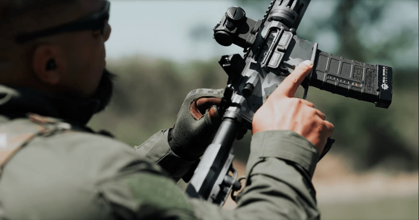 falkor defense the standard rifle ar15 223 wild black rifle 6