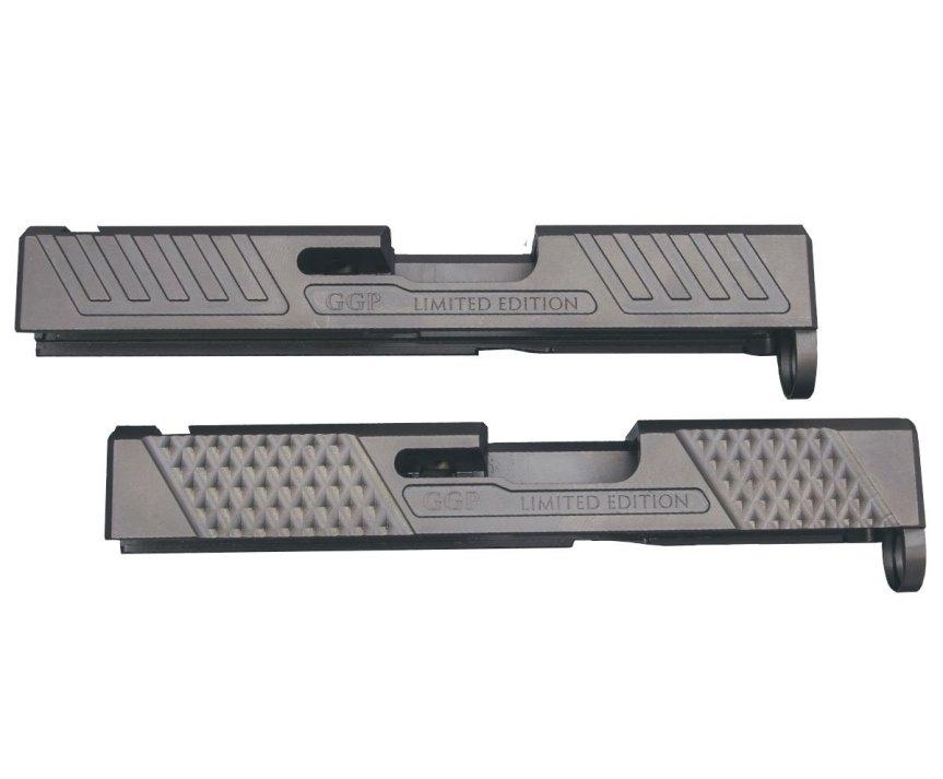 grey ghost precision 43 slides custom glock 43 slide custom slides GGP-SPG43-V1 1