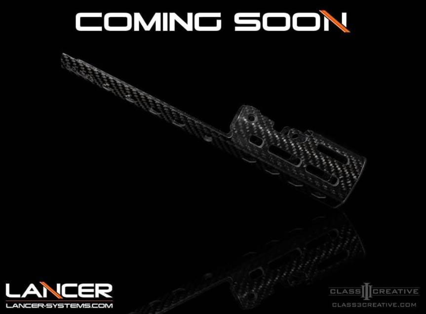 lancer carbon fiber scar hand guard carbon fiber scar forend carbon fiber scar rails
