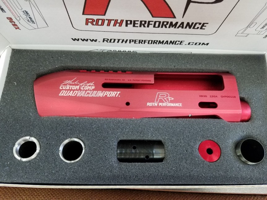 ROTH PERFORMANCE DEBUTS XB3G QVP UNIVERSAL RECEIVER FOR BENELLI M2 AND BREDA B12I 3