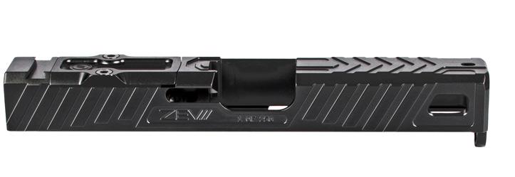 zev techonolgies glock slide. Raven glock slide. custom glock slide. slide serrations. 6