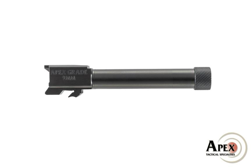 apex tactical sw mp m2.0 threaded barrel tactical 9mm barrel ccw pistol 2