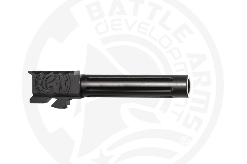battle arms development one 1 glock barrel. custom glock barrel threaded glock barrel BAD-BBLG19SSFT 10