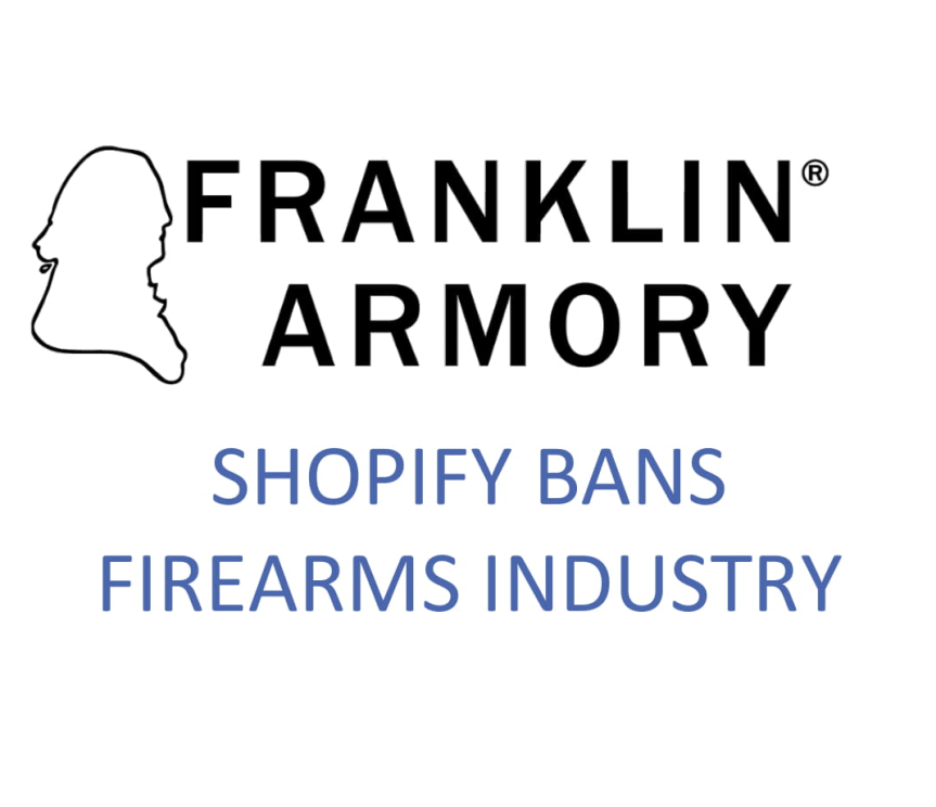 franklin armory banned from shopify 1