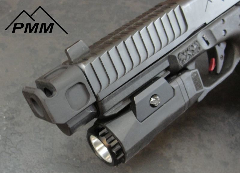 PARKER MOUNTAIN MACHINE COMPS compensator CZ P10C, H&K VP9, and Glock 9mm pmm jttc 8
